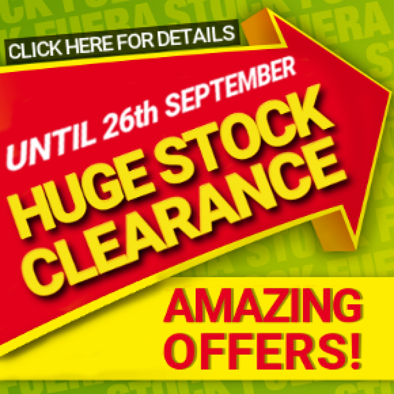 Murcia Today Huge Stock Clearance Until 26th September At