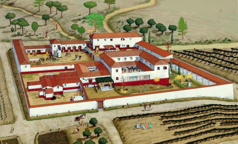 The Roman villa of Los Cantos in Bullas