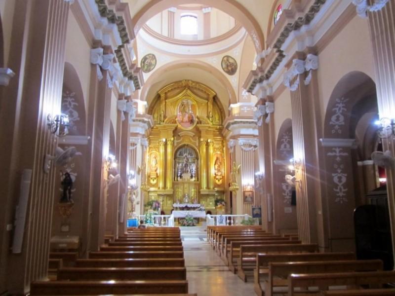 The church of San Juan Bautista in Archena