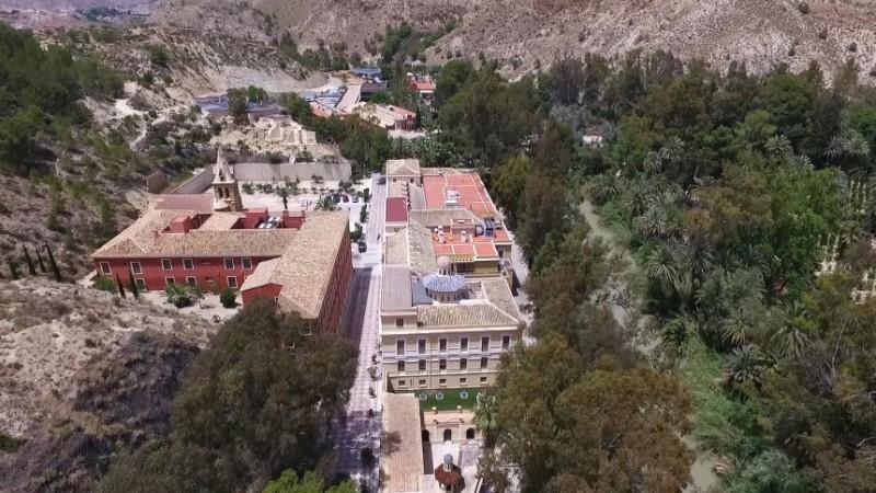 The Balneario de Archena thermal spa baths and hotel complex