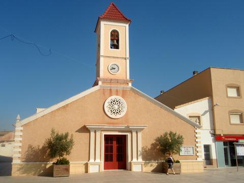 The church of San José in Roldán