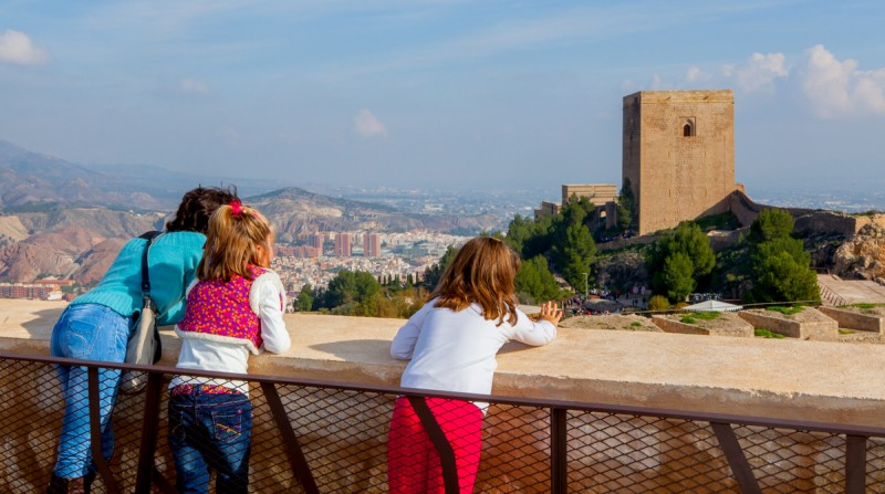 February 2019 opening hours for Lorca castle