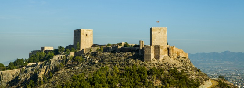 <span style='color:#780948'>ARCHIVED</span> - February 2019 opening hours for Lorca castle