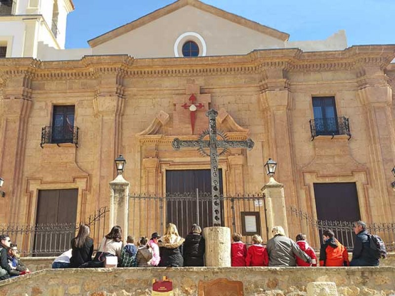 <span style='color:#780948'>ARCHIVED</span> - 25th May Free guided theatrical tour of historical Lorca: La Daga Roja