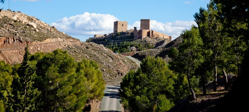 <span style='color:#780948'>ARCHIVED</span> - April 2019 opening hours for Lorca castle