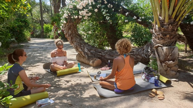 Happy Retreats mindfulnness yoga and getaway retreats Archena Murcia