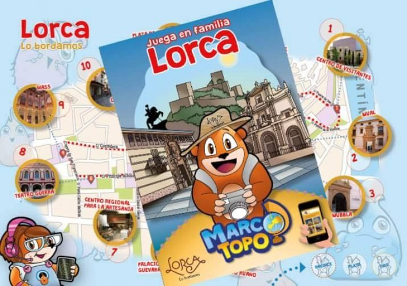 <span style='color:#780948'>ARCHIVED</span> - Marco Topo a free fun family game for visitors to Lorca