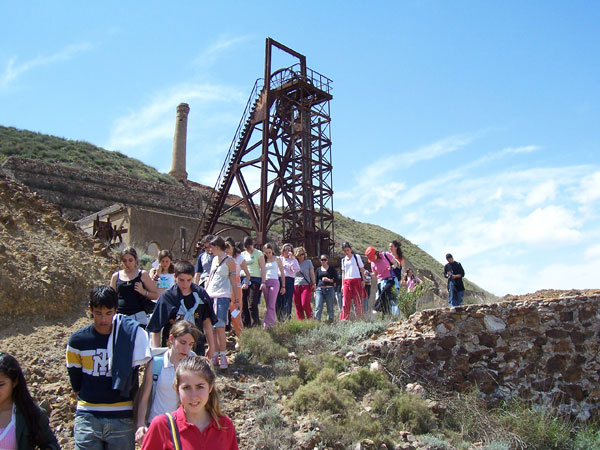 Guided walking in the Sierra Minera with the Fundación Sierra Minera