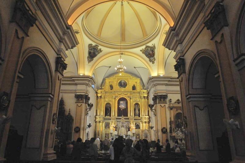 The parish church of Bullas, the Iglesia de Nuestra Señora del Rosario