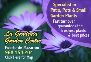 Gardenia garden Center Puerto de Mazarrón