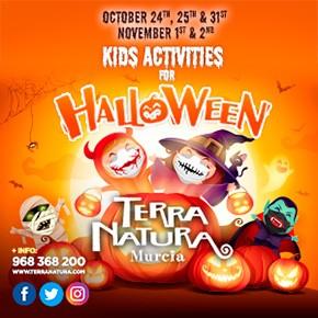 Terra Natura October Halloween 2020
