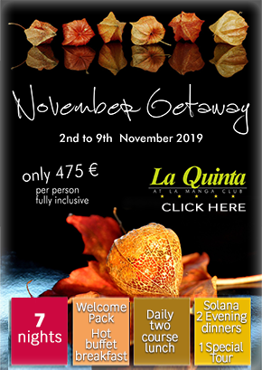 La Quinta Club November getaway 2019