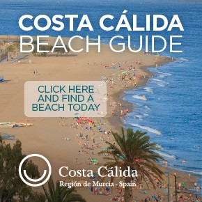 Murcia Turistica Beach Guide banner WHATS ON