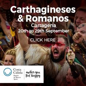 Murcia Turistica Whats On Bulletin Romans Y Carthaginians