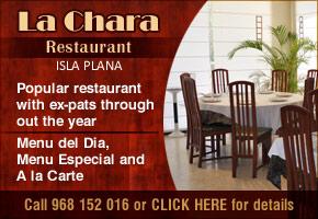 La Chara Restaurant Isla Plana
