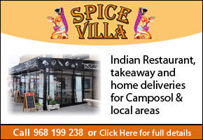 Spice Villa Indian Restaurant Camposol