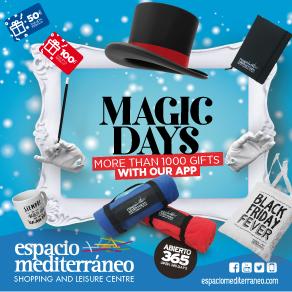 Espacio Mediterraneo Magic Sponsors Banner