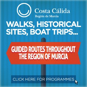 Murcia Turistica  Whats ON Weekly Bulletin Banner