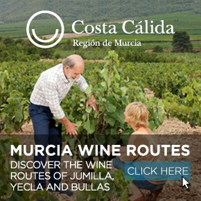Murcia Turistica Whats ON Weekly Bulletin Wine Banner